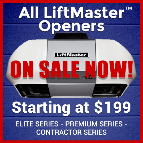 Image of Tai's Garage Doors & Locksmith Special Promotion - All LIftMaster Garage Door Openers On Sale - Sacramento CA
