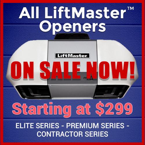 Image of Tai's Garage Doors & Locksmith Special Promotion - All LIftMaster Garage Door Openers On Sale - Sacramento CA